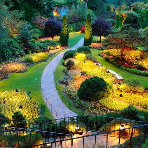 Spacer po zaczarowanym ogrodzie. Fot. GTV
