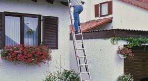 Wiosna to czas wzmożonych prac porządkowych wokół domu oraz pielęgnacyjnych w ogrodzie. Przycinanie wysokich konarów drzew i żywopłotów oraz naprawa elewacji lub systemu rynnowego bezwzględnie wymagają użycia drabiny, i to nie byle jakiej.
