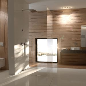 Nowe modele toalety myjącej Geberit AquaClean Mera - Classic i Comfort - stanowią mocny akcent i równocześnie harmonijnie wtapiają się w wystrój łazienki. Fot. Geberit
