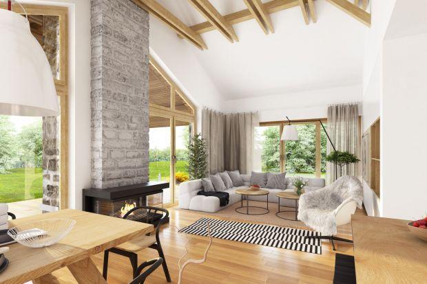 Piękny parterowy dom: zobacz jak go zaprojektowano
