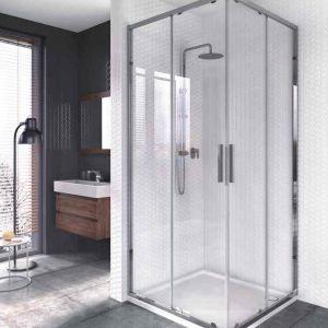 Nowoczesna łazienka w industrialnym klimacie. Fot. Aquaform