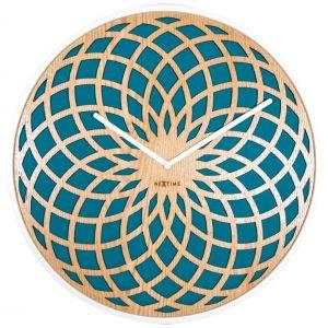 Zegar ścienny SUN BIG z orientalnym wzorem. Fot. Nextime