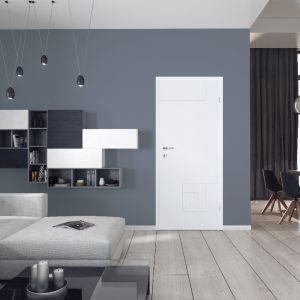 Drzwi do pokoju dziecka. Model Tetris Biały Lakier. Fot. Classen