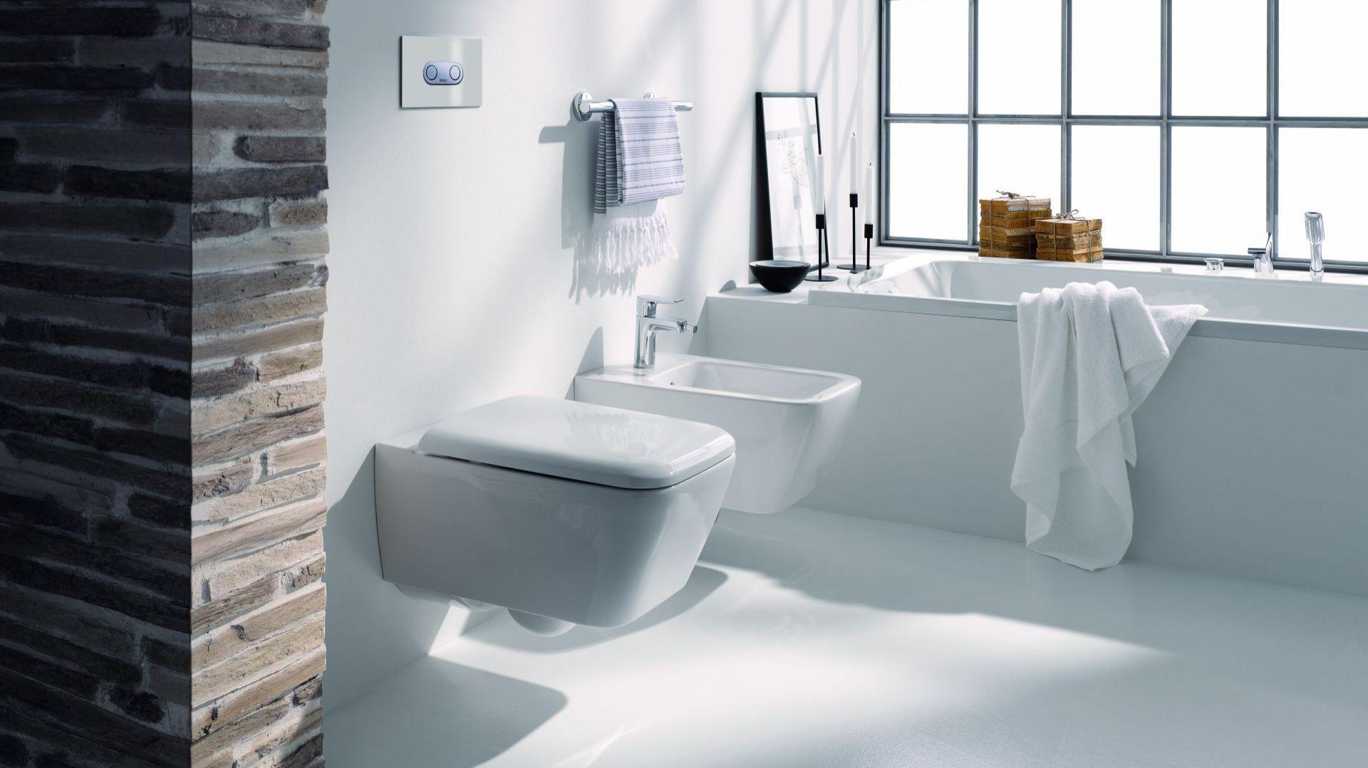 Kolekcja ceramiki sanitarnej Life! doskonale pasuje do wnętrz w stylu loft. Fot. Koło