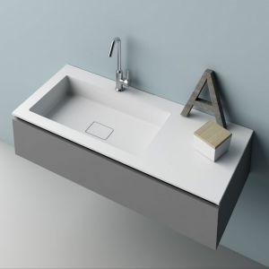 Prostokątna umywalka. Fot. Planit