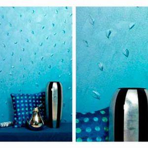 Farba do dekoracyjnego malowania wnętrz, która po wyschnięciu przypomina prawdziwy metal. Fot. Sigma Coatings