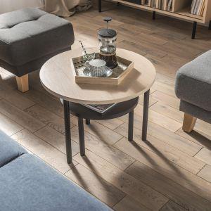 Drewniana podłoga z dębu. Fot. VOX
