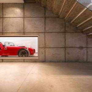 Garaż W środku Domu Zobacz Wyjątkowy Projekt Dobrzemieszkajpl