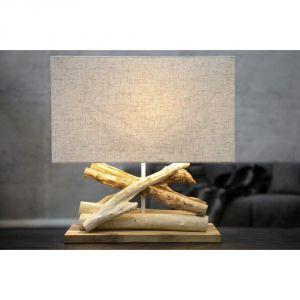 Beżowa lampa stołowa SOB Ania. Cena: 1059 zl. Fot. Bonami.pl