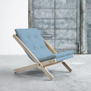Fotel składany Karup Boogie RawCeleste. Cena: 639 zł. Fot. Bonami.pl