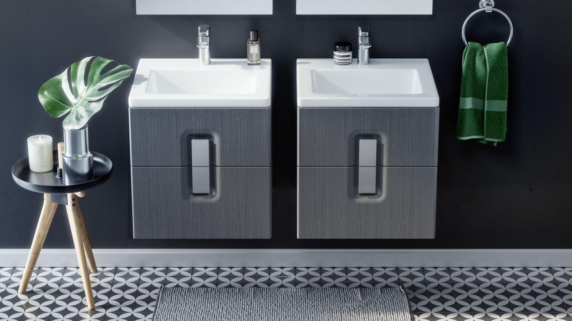 Szafka z umywalką Twins slim. Fot. Koło