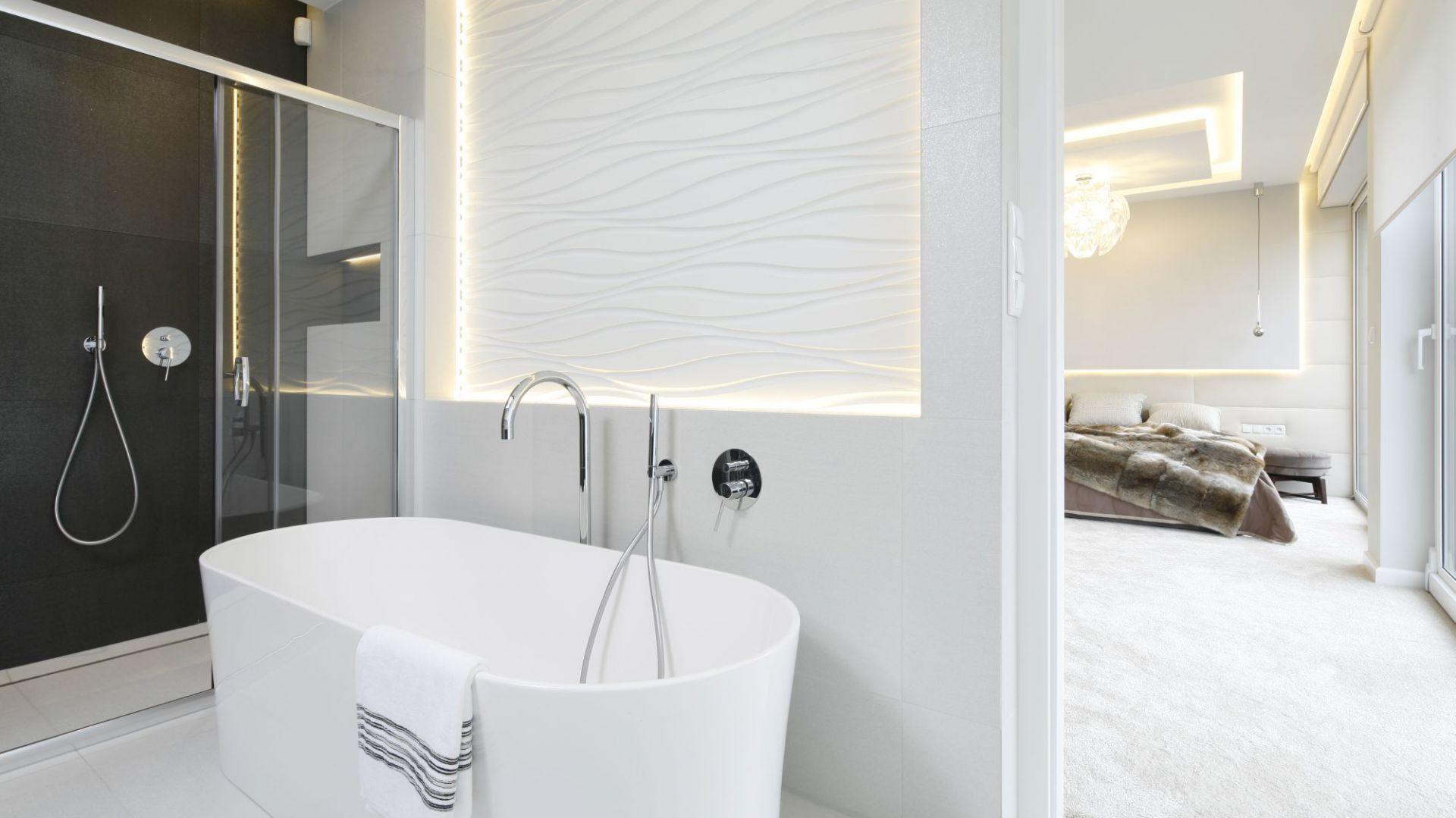 Biała łazienka 12 Projektów Architektów