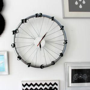 Zegar z koła od roweru. Fot. Bosch