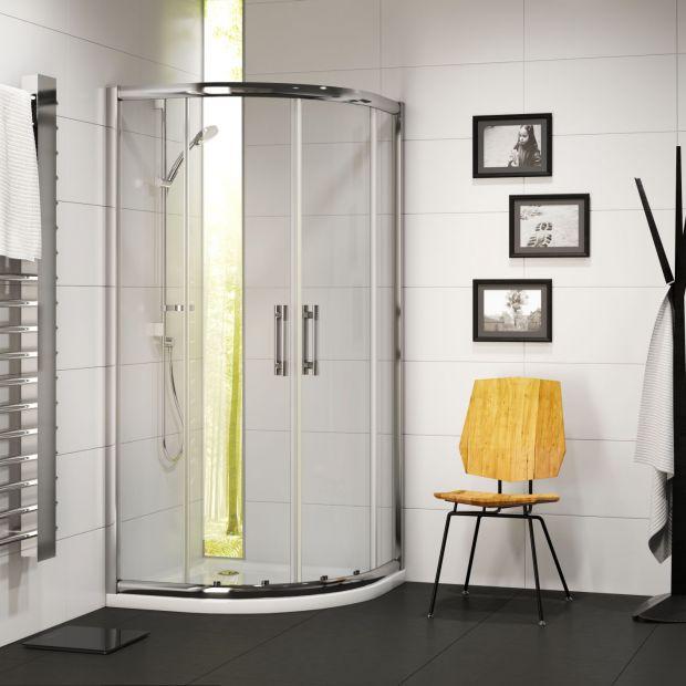 Aranżacja łazienki: kabina w zestawie z brodzikiem