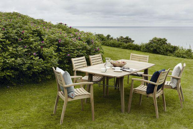 Lato w ogrodzie - piękne meble w stylu skandynawskim
