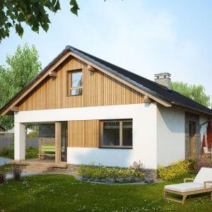 Domy w stylu minimalistycznym. Projekt Ametyst. fot. Dobre Domy