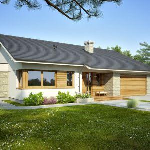 Domy w stylu minimalistycznym. Projekt: Lukrecja III. Fot. Dobre Domy