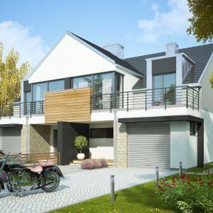 Domy w stylu minimalistycznym. Projekt: Ofelia. Fot. Dobre Domy