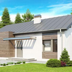 Domy w stylu minimalistycznym. Projekt: Z93. Fot. Z500