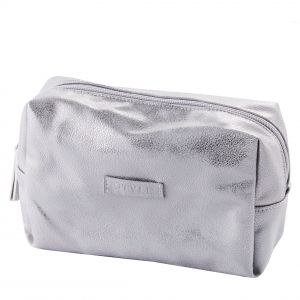 Srebrna torba l argente kosmetyczka, cena: ok. 25 i 45pln. Fot. home&you