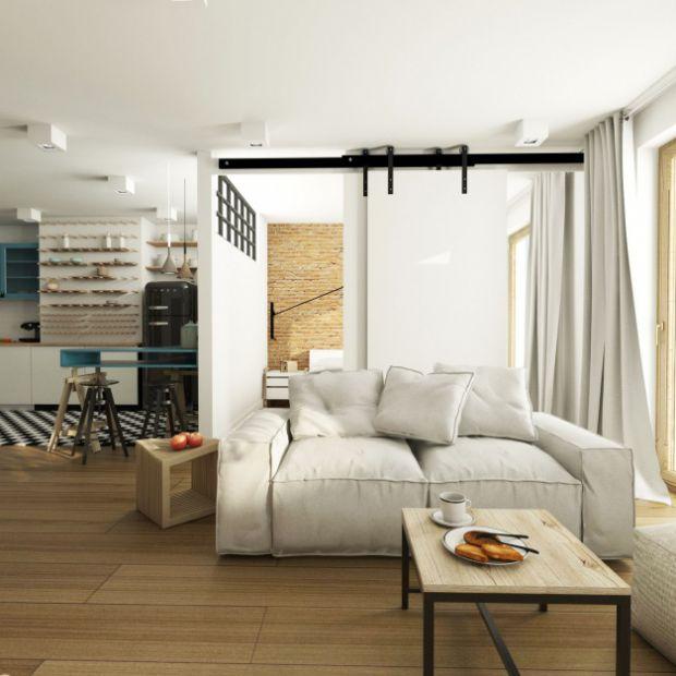 Nowoczesna aranżacja wnętrza mieszkania w Warszawie