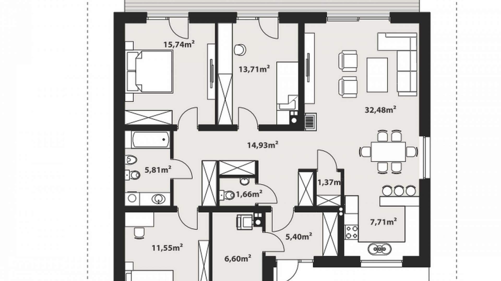 Mały Parterowy Dom Dla Rodziny Zobacz Projekt I Wnętrze