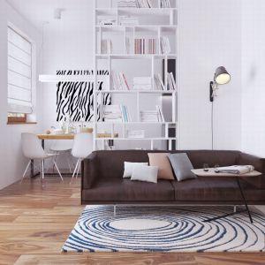 Mały salon. Projekt: Z16. Fot. Z500
