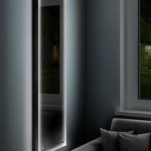 Dekoracyjny grzejnik z oświetleniem LED. Model Niagara LED. Fot. Luxrad