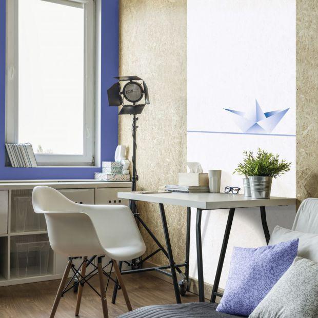 Domowe biuro - 3  pomysły w różnych kolorach