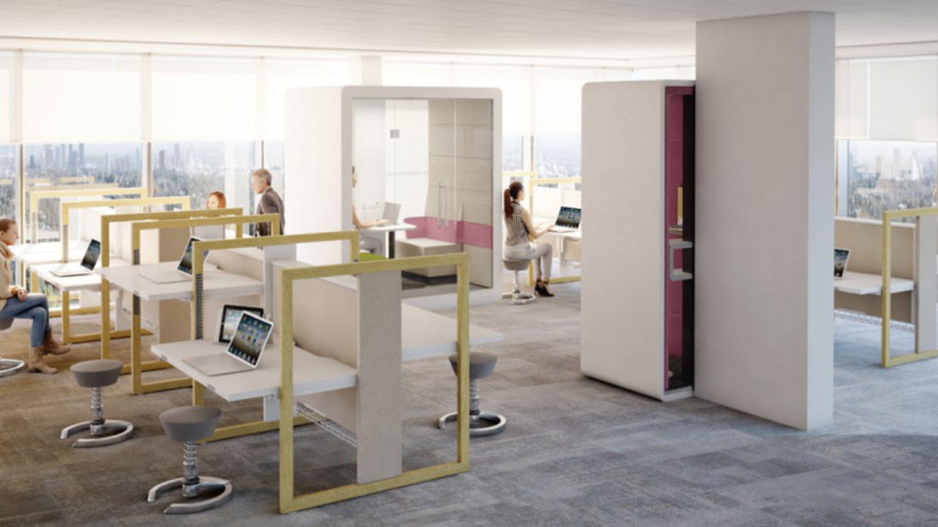 Mikomax Smart Office zaprezentował Stand Up R – biurko do pracy w trybie sit & stand.