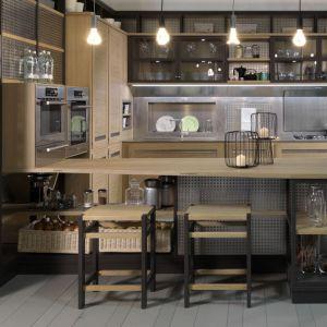 Kuchnia w stylu industrialnym.Fot. Roveretto