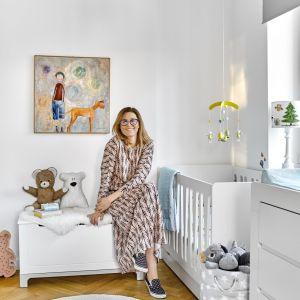 Beata Sadowska opowiada, w jaki sposób urządziła pokój dla synów. Fot. Pinio