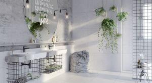 W naszej galerii zebraliśmy 5 aranżacji łazienek w stylu loft. Zobaczcie 5 przykładów.