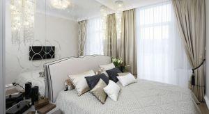 Tapeta, klasyczna farba, cegła, tapicerowane zagłówki czy może drewno lub lustra? Każdy z tych materiałów sprawdzi się jako wykończenie ściany za łóżkiem w sypialni.