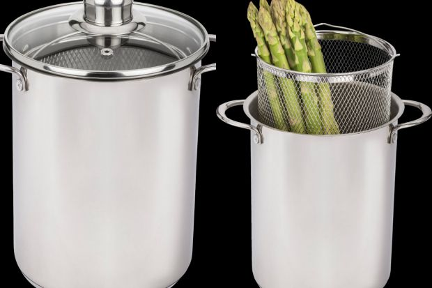 Garnek do szparagów i makaronu - idealny na letni sezon