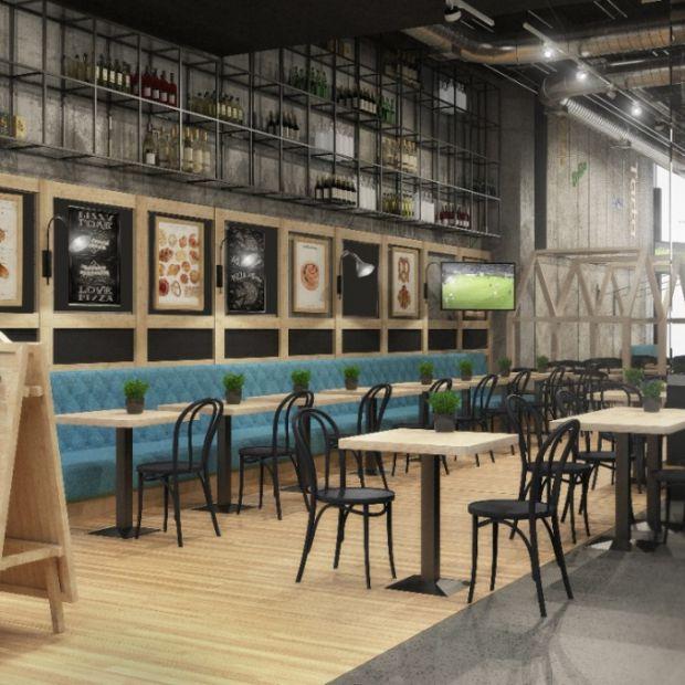 Allo Allo - restauracja w industrialnej oprawie