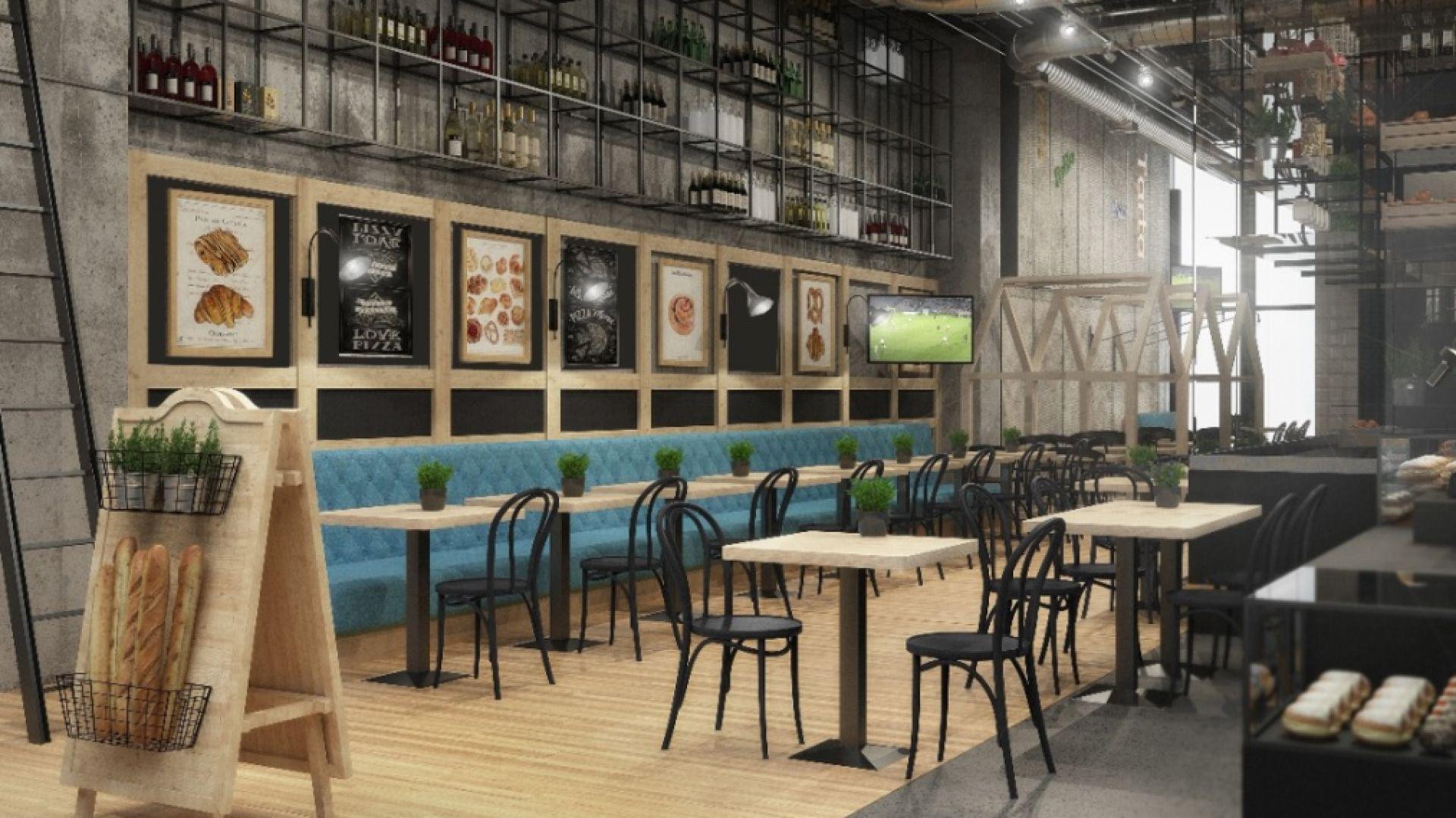 Wizualizacja restauracji Alo Alo. Fot. Forbis Group
