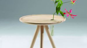 """Stolik kawowy """"Flower"""" to subtelny mebel pasujący do nowoczesnych wnętrz urządzonych w stylu skandynawskim."""