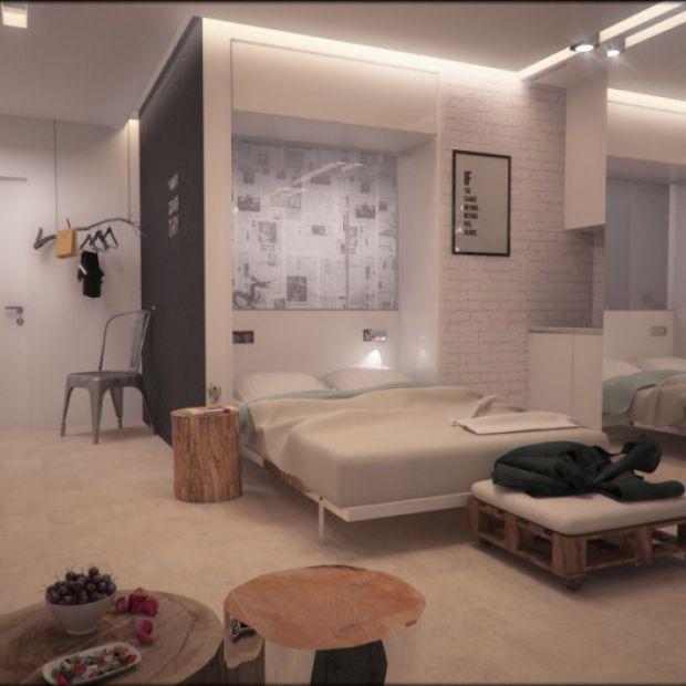 Sypialnia W Kawalerce Dobrzemieszkajpl