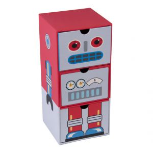 Pudełko z szufladkami Tri-Coastal Design Robot, cena: ok. 49zł. Fot. Bonami.pl