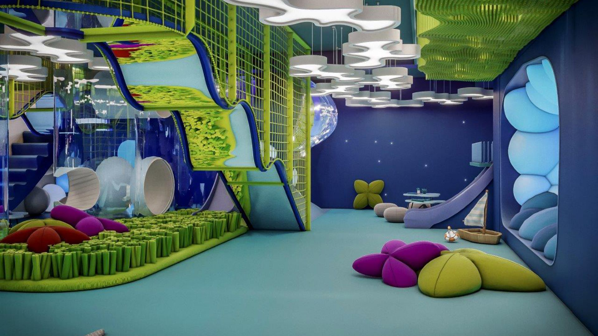 Kids Room w hotelu Gwiazda Pomorza. Fot. Iliard Architecture & Project Management