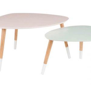 Komplet 2 stolików Vincent, cena: ok. 529 zł. Fot. Westwing.pl