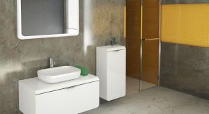 Chociaż łazienka to zwykle najmniejszepomieszczenie w domu przechowujemy w niej wiele niezbędnych przedmiotów codziennego użytku. Jak je wszystkie pomieścić i utrzymać porządek? Odpowiedzią sąpraktyczne meble.
