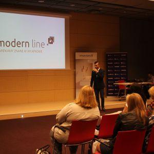 Prezentacja Szymona Tomeckiego, Modern Line