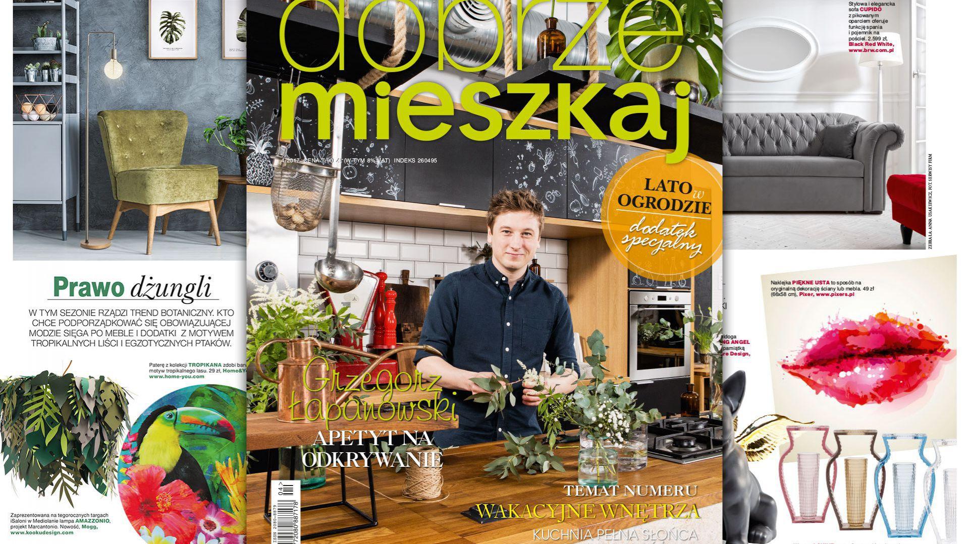 Magazyn Dobrze Mieszkaj numer 4-2017