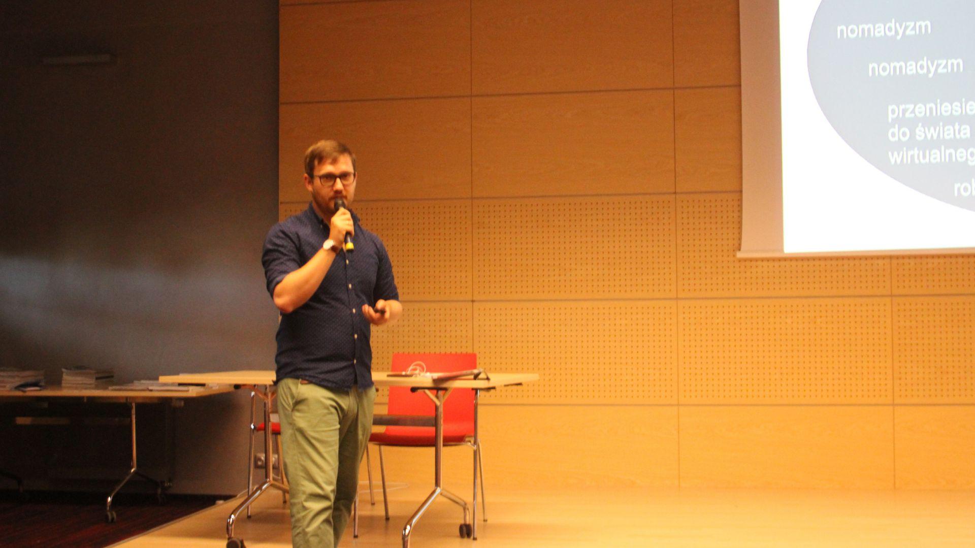 Wykład dr hab. Jan Sikora podczas spotkania, które odbyło się w ramach Studia Dobrych Rozwiązań w Gdańsku 20 czerwca