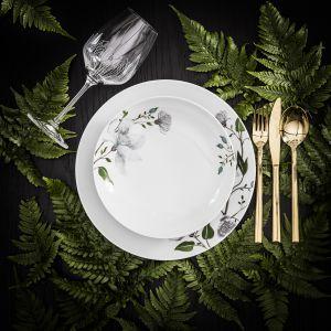 Piękna porcelana na wyjątkowe okazje.  Kolekcja Clematis. Fot. Fyrklovern