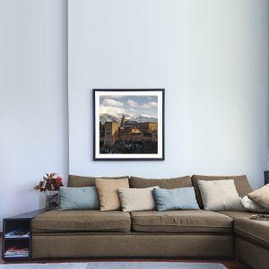 Meble wypoczynkowe tapicerowane tkaniną Granada. Fot. Top textil