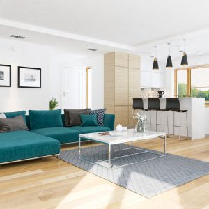 Dom w rawanach (T) – kolekcja: projekty domów nowoczesnych