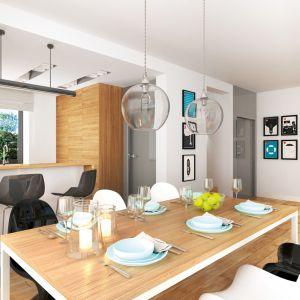 Dom w serduszkach – kolekcja: projekty domów nowoczesnych ARCHON +